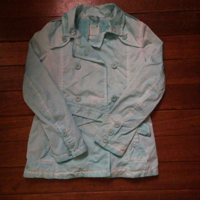 😍Authenthic DIESEL jacket for her P500 Slightly Negotiable  (Orig Price Is 5K+)  Faded Mint Green