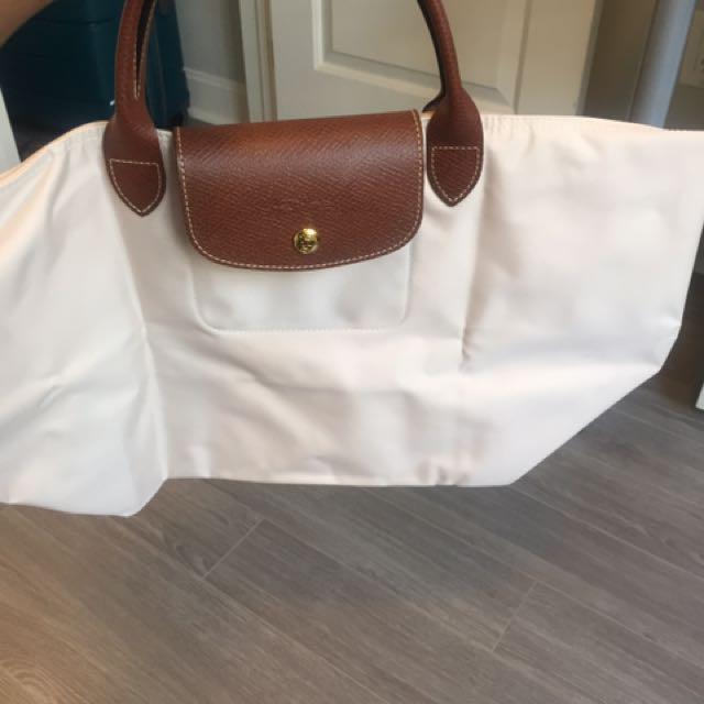 Authentic Pale Pink Longchamp Bag