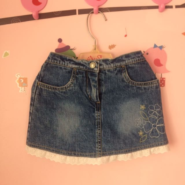 Baby Gap Denim Skirt