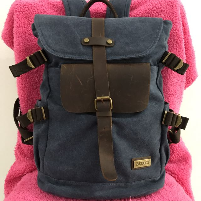 Backpack Denim Zapatos