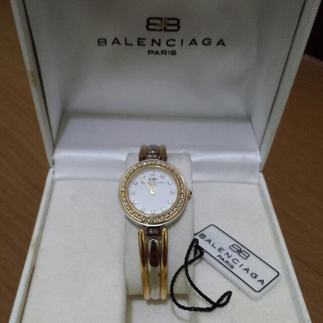 Balenciaga Womens Watch (Two Toned w/ Swarovski )