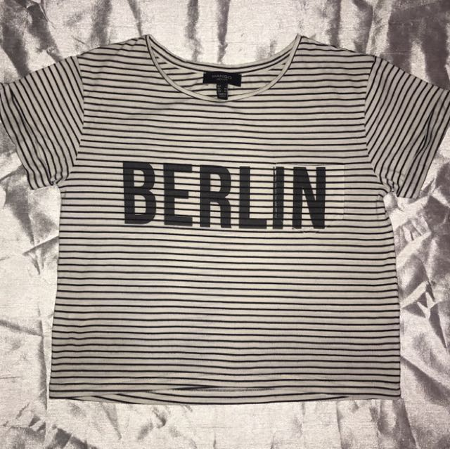Berlin Crop Top // MNG 🌸