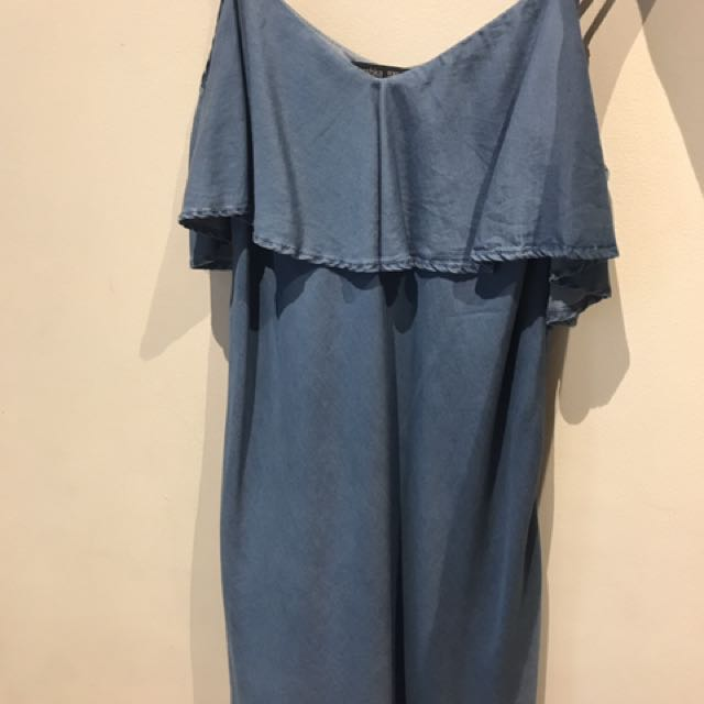 Bershka Denim Dress