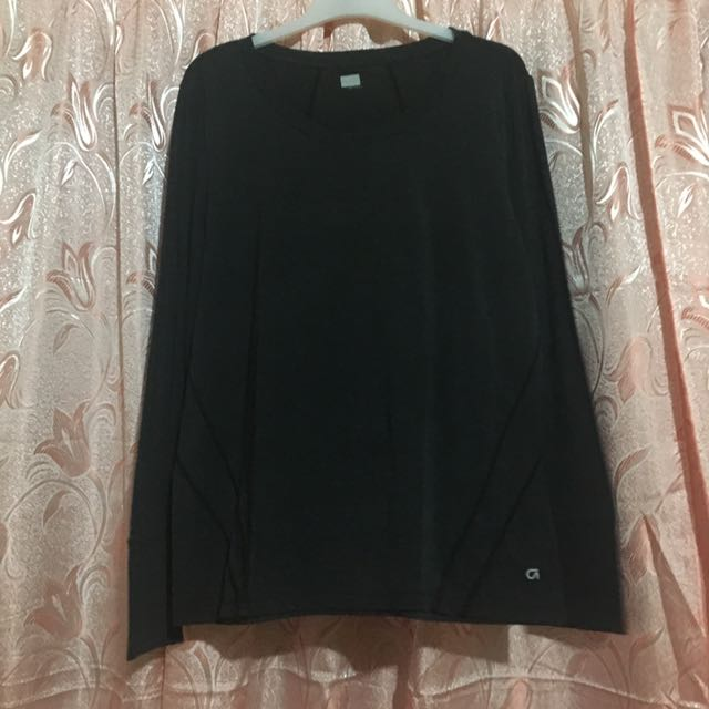 Black Long Sleeves Blouse