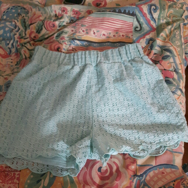 Bluenotes High Waisted Shorts