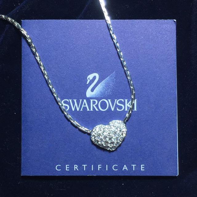 BNWT Swarovski Heart Pendant Necklace