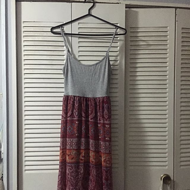 Bohemian Style Long Dress