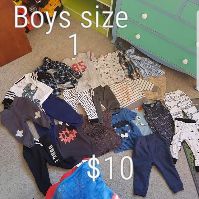 Bulk Lot Boys Clothes