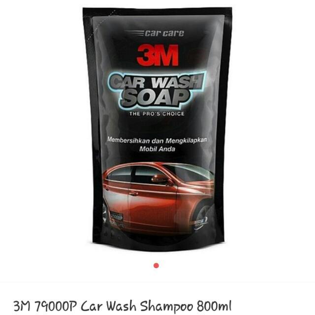 Car Wash Shampoo 3M 800ml Reffil