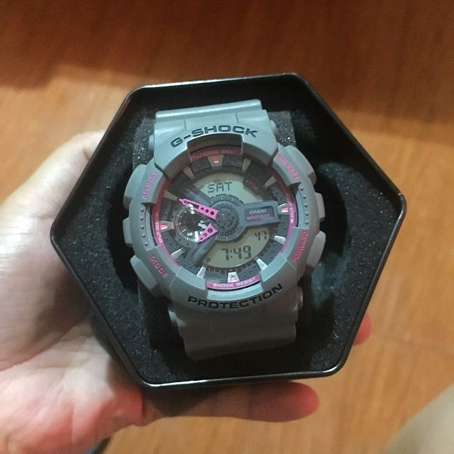 Casio G-Shock Grey/Pink