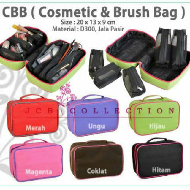 CBB/ Cosmetic & Brush Bag