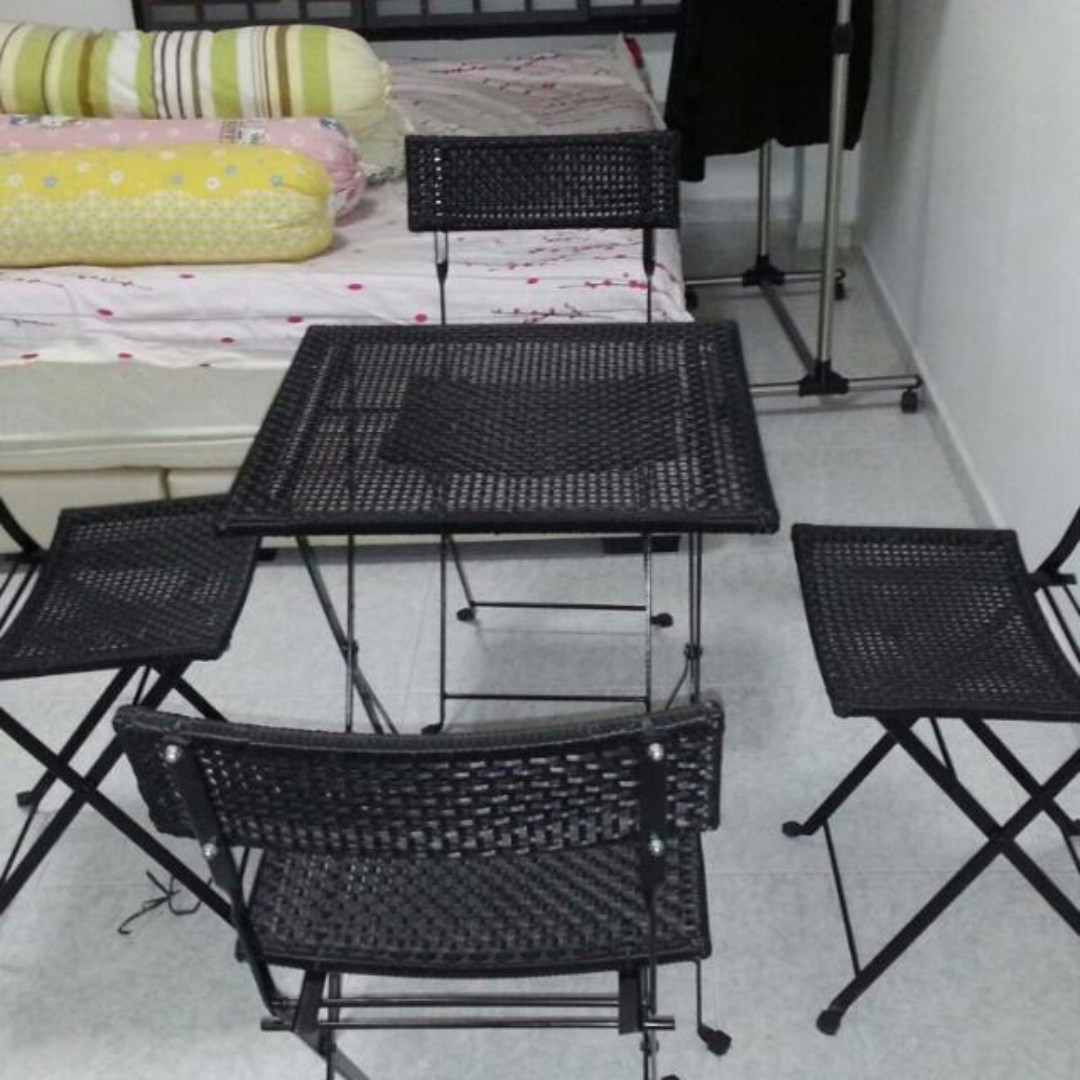 Cheap IKEA table and chairs