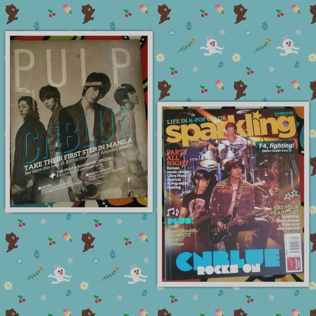 CN Blue Magazines