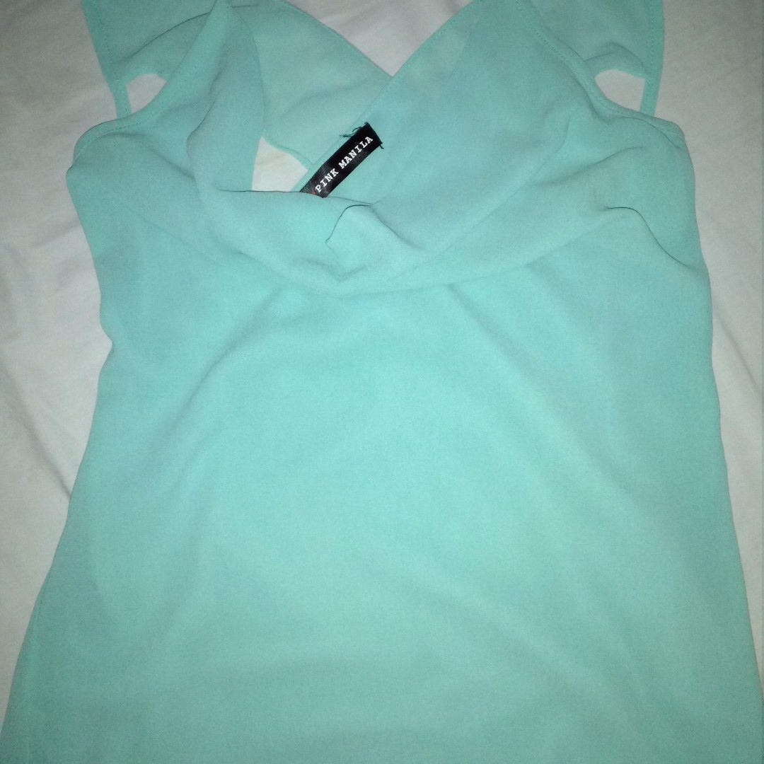 Colored Teal Top