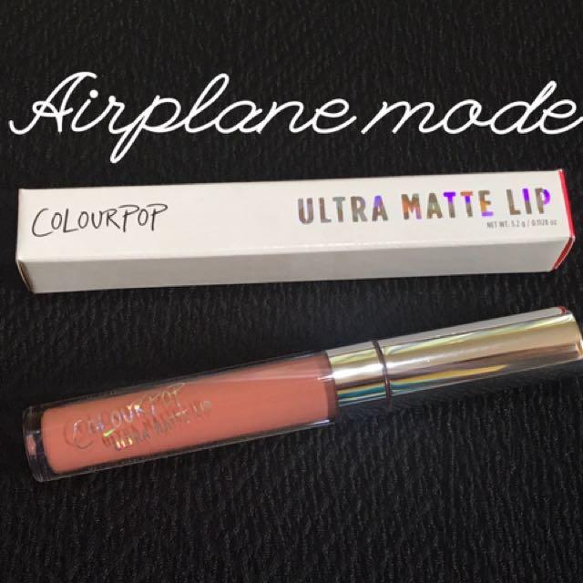 Colourpop UML Airplane Mode
