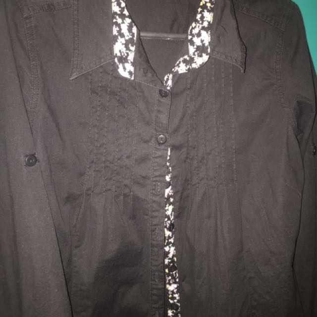 CRISSA Blouse Black