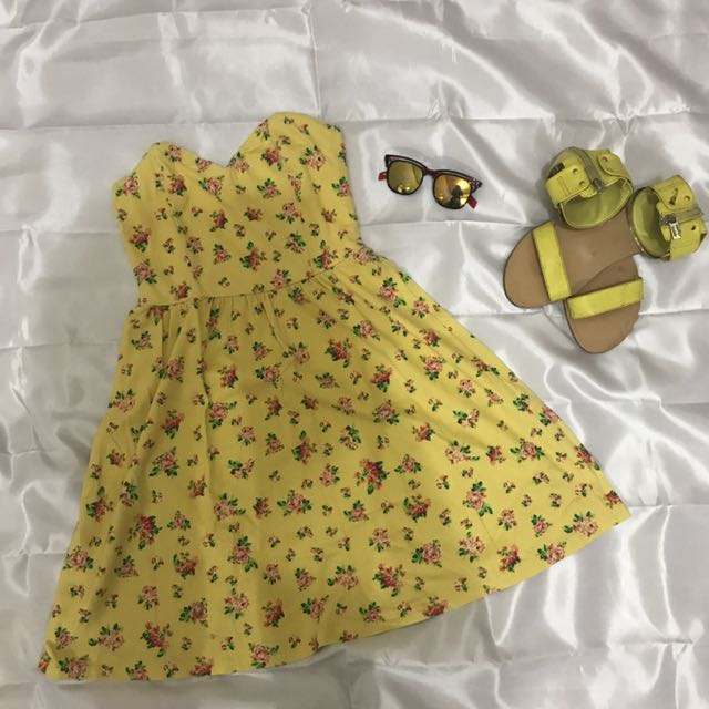 Cute Yellow Dress From Forever21