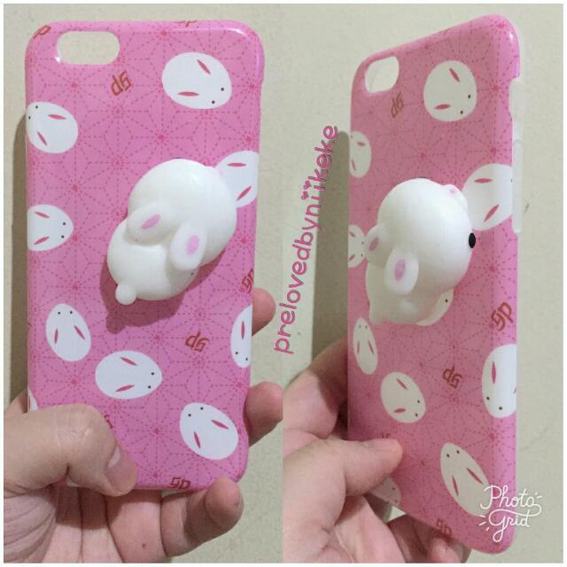 Squishy Rabbit Pink Case Iphone 6