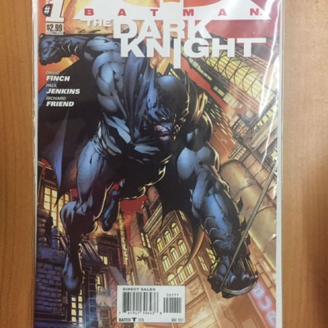 DARK KNIGHT COMICS