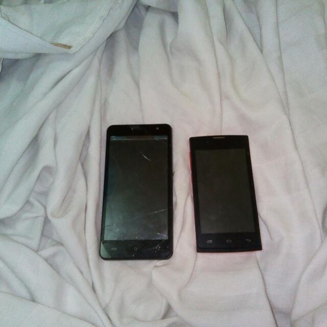 Defective Cherry Mobile (2phones)