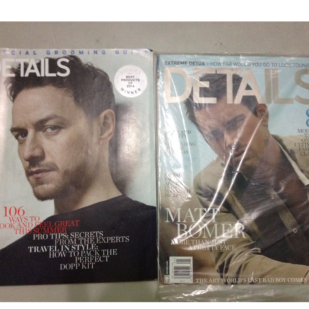 Details Magazine (6 issues)