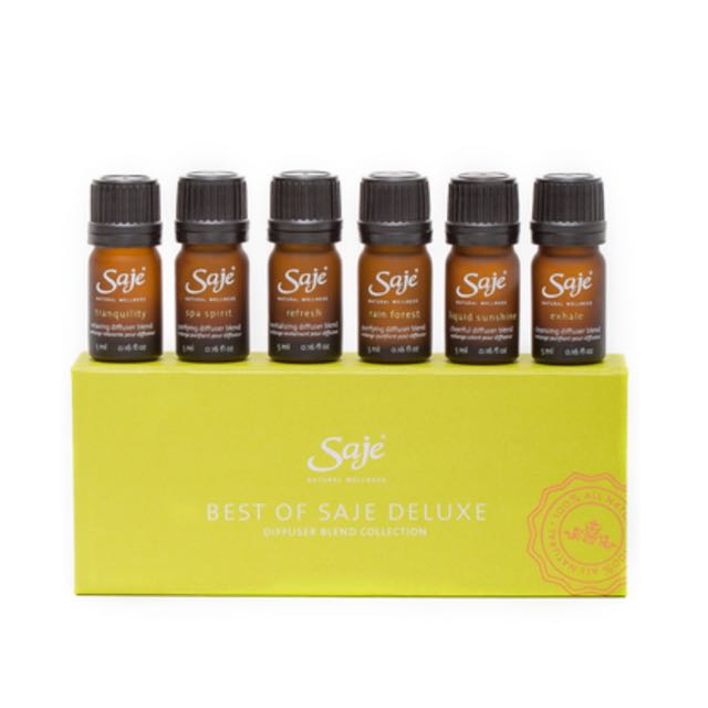 Diffuser Blend Collection- Best Of Saje