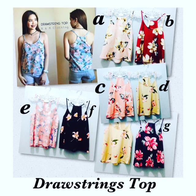 👚Drawstrings Top👚