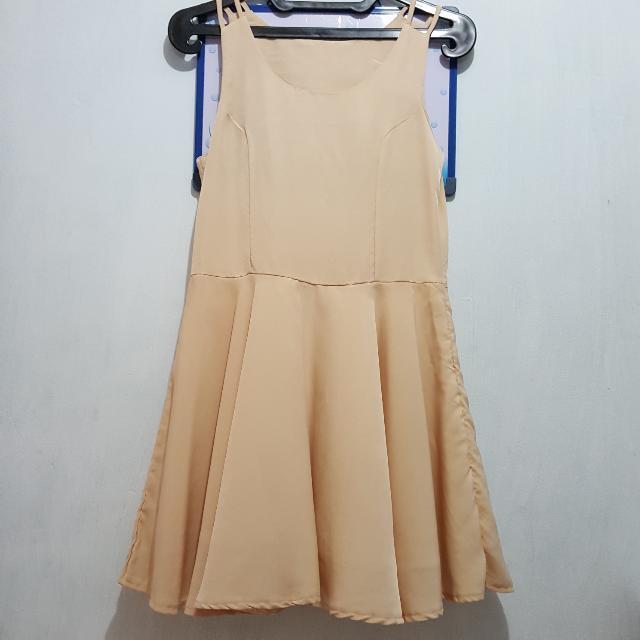 Dress Nude Brown