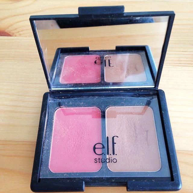 E.l.f Contouring Blush & Bronzer In Fiji