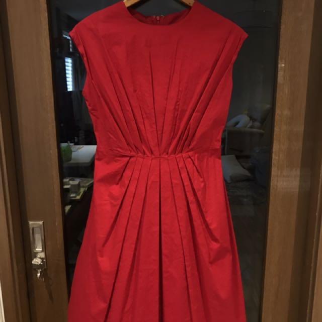 Ensembles red dress