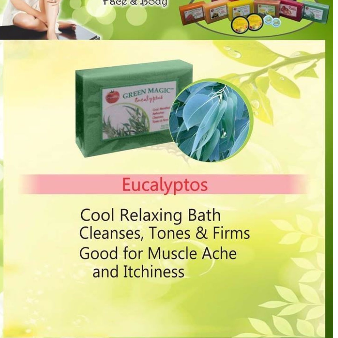Eucalyptus Green Magic Soap