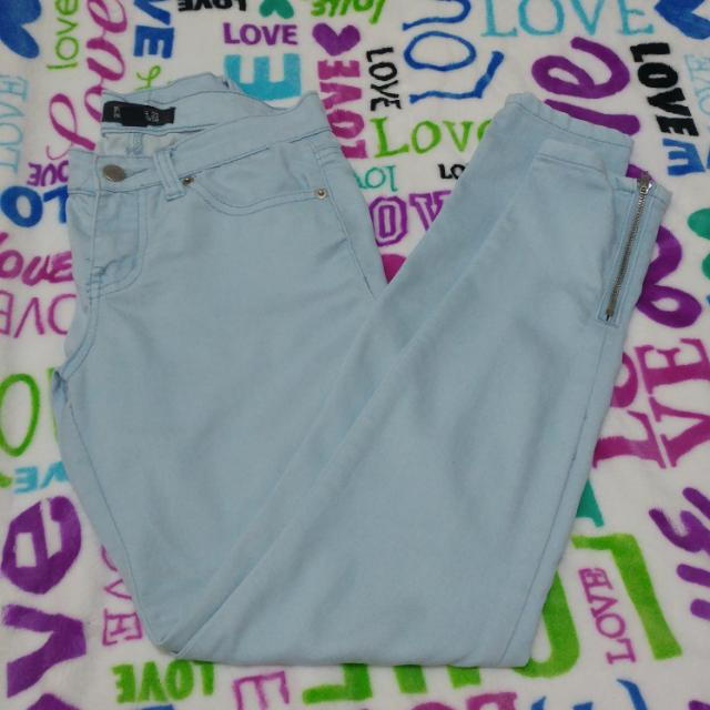 F21 Light Blue Pants
