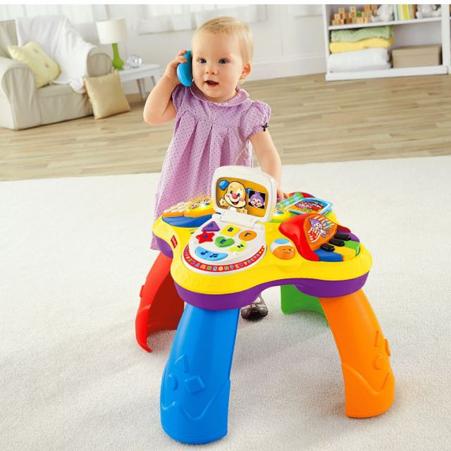 c4d1bff4357c Fisher-Price Laugh   Learn Puppy N Friends Learning Table