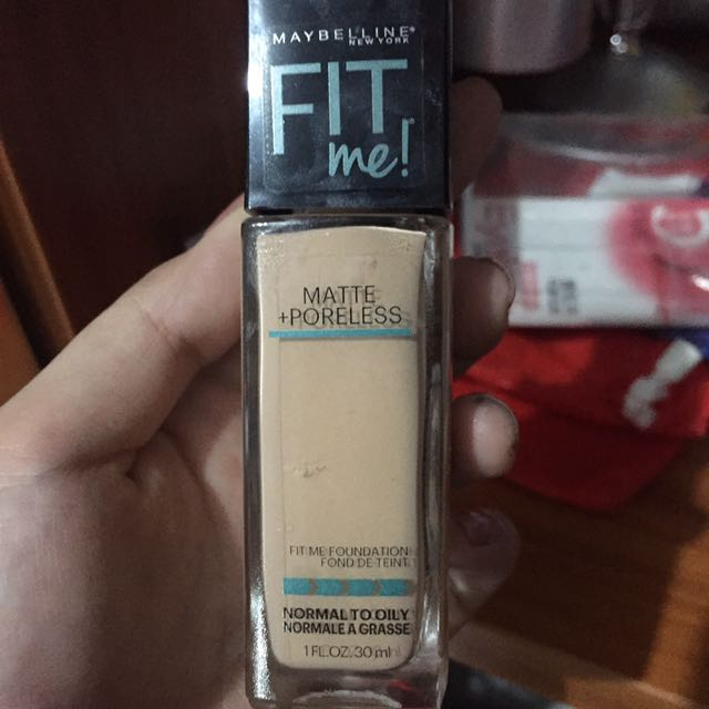 Fit me Maybelline Foundation 120