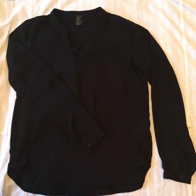 Forever New- Chiffon Shirt 8/10