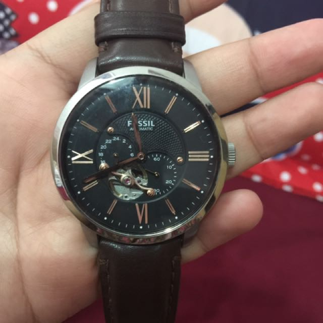 Fossil Automatic Second