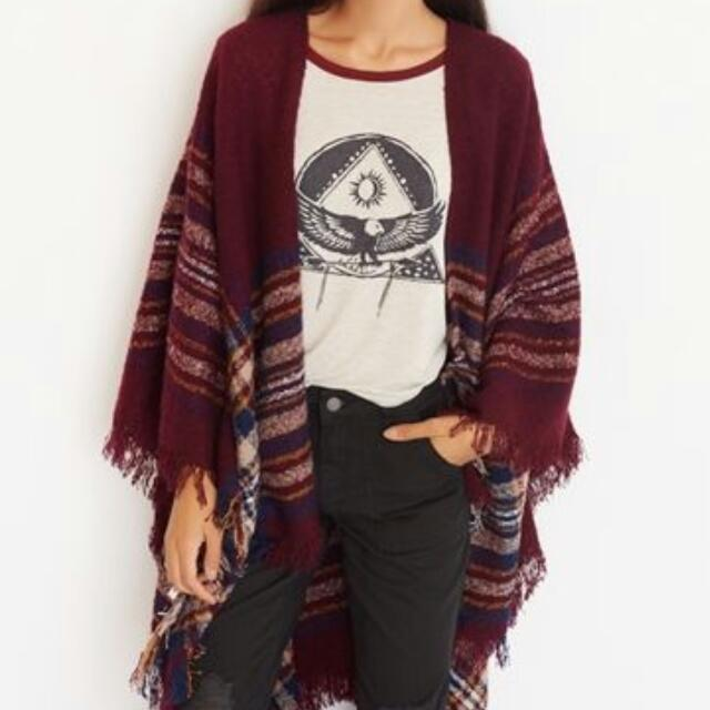 Garage Poncho Sweater