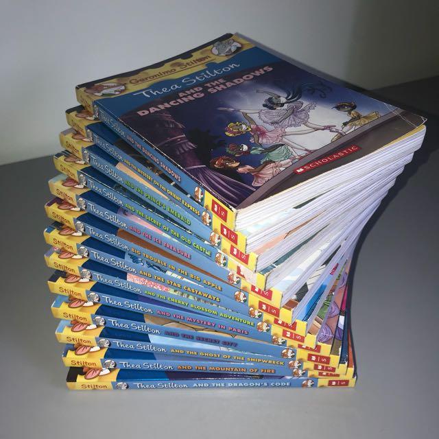 Geronimo Stilton Thea Stilton Book Series