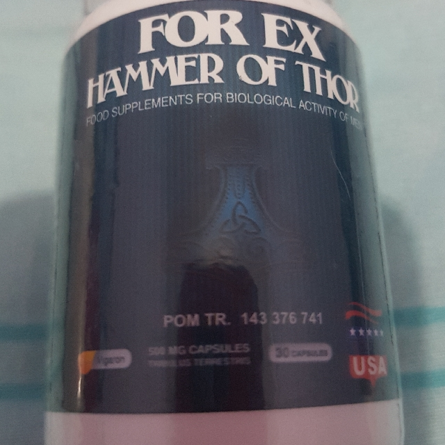 hammer of thor health beauty men s grooming on carousell