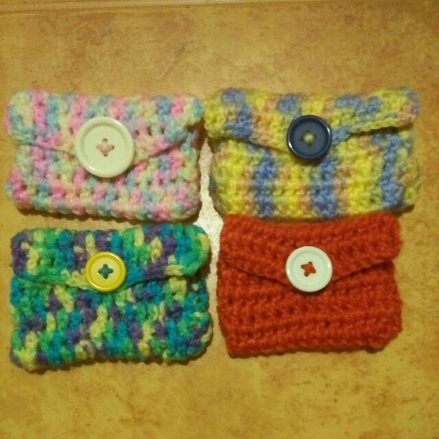 Handmade crochet/gantsilyo coin purse