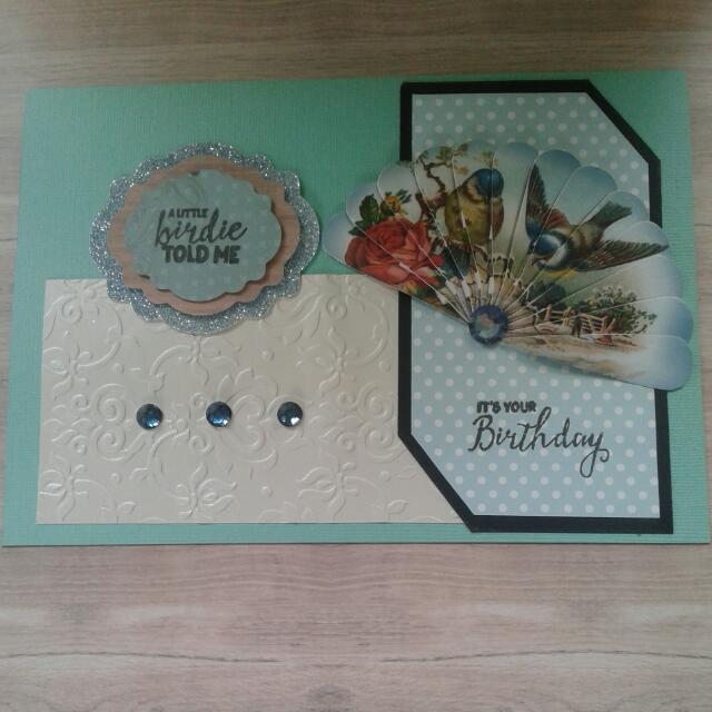 Handmade FANtastic Fan Birthday Cards