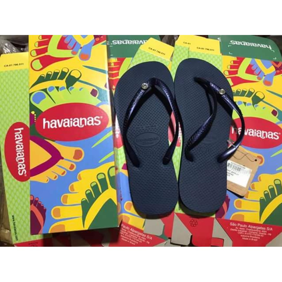 HAVAIANAS WITH STONE for women W/BOX (REPLICA)
