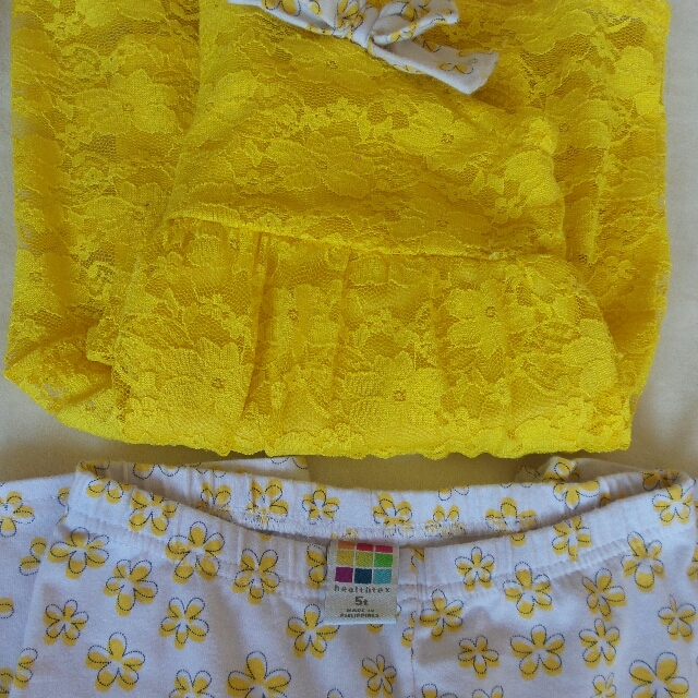 Healthtex Yellow terno set
