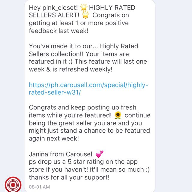 HIGHLY RATED SELLER! 💕