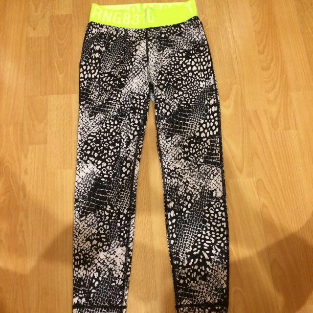 H&M Training Sport Legging Pants Quick Dry