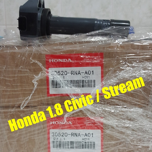 HONDA civic FD1 FD4 /stream Rn6 / crossroad 1.8 Ignition Coil $70 Per Pcs(Instant Sold Off / 秒杀)  ( Other Car  Model Will Support If Requested & See My Other Listing Too)