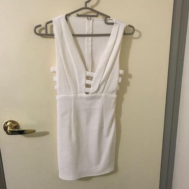 Hot White Dress