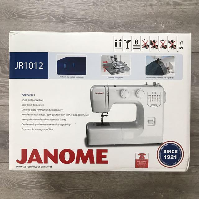 Janome JR1012 Sewing Machine Mesin Jahit