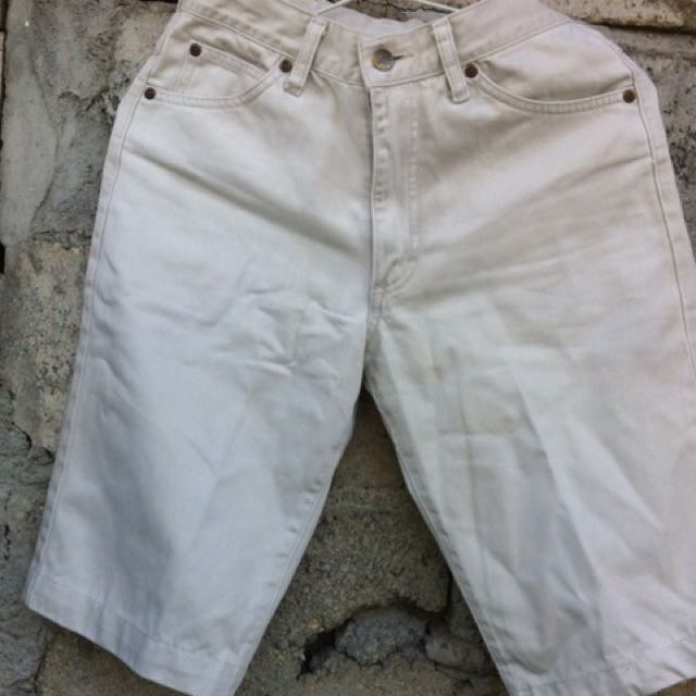 Jeans Lee White