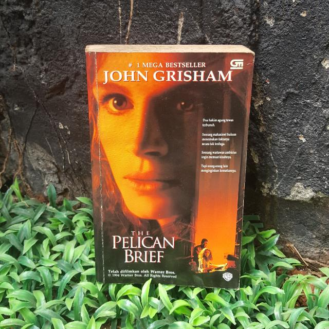 "John Grisham "" THE PELICAN BRIEF"""